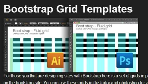 bootstrap templates for illustrator 13 resources to design for bootstrap vandelay design