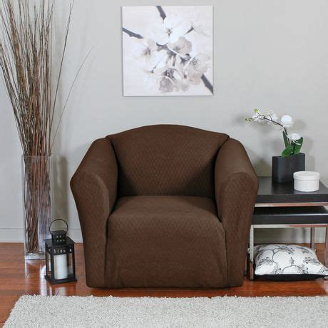 surefit canada slipcovers surefit diamond stretch chair slipcover walmart canada