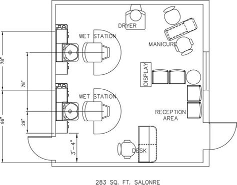 salon design layout salon design layout solar nails spa beauty salon floor plan design layout 283 square foot