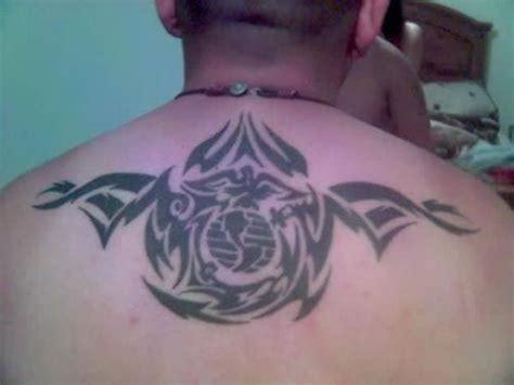 tribal tattoos reading plus marine eagle globe and anchor tatoo design tribal