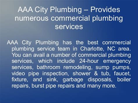 aaa city plumbing reviews why trust us