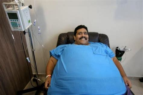 fattest person in the world world s fattest man dead andres moreno dies after energy