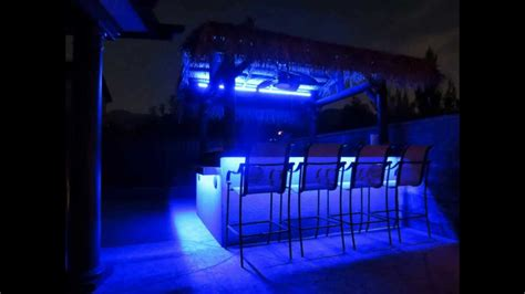 Outdoor Bbq Island Lighting Led Light Show On Bbq Island Must