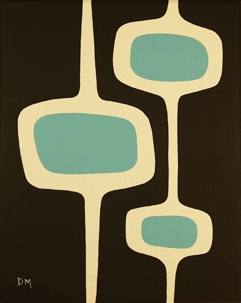 mid century mad for mid century mid century art donna mibus