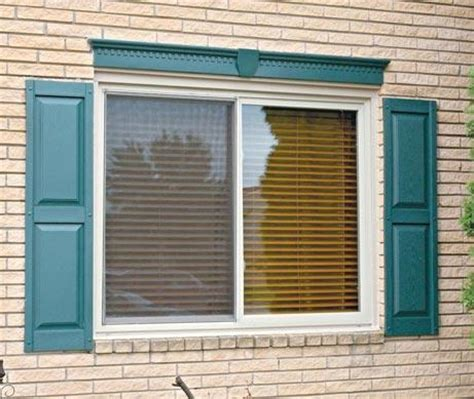 basement window header mid america siding components window headers gallery