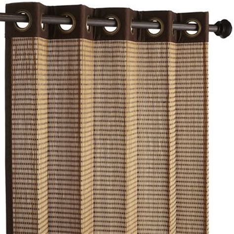 Bamboo Closet Door Curtains Ranong Bamboo Panel 84 Quot Curtains Master Bedrooms Tropical And Sliding Doors