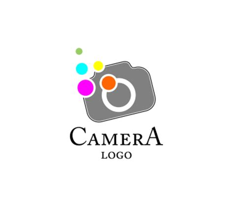camera colour fashion vector logo inspiration download