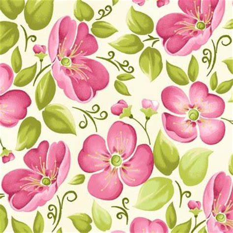 printable pink flowers pink flower and leaf print pattern фоны pinterest