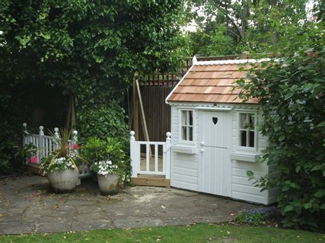 cottage playhouse cottage playhouse with single swing gantry playhouses