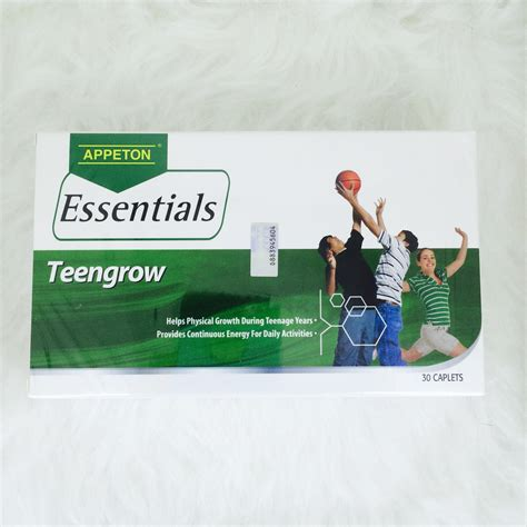 Appeton Height Gain appeton essentials teengrow 30 s bahau pharmacy sdn bhd