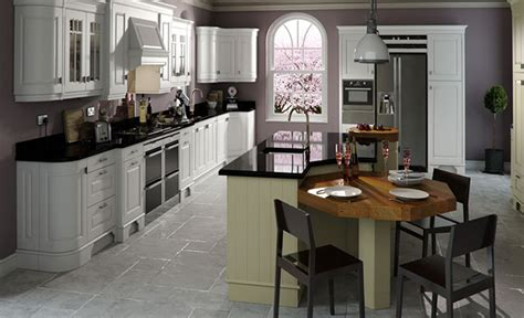 Design Your Own Kitchen Layout Free by Kitchen Design Dante Painted Brillant White And Sage Green