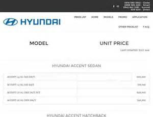 Philippines Hyundai Price List Hyundai Price List Philippines 2013 Websites