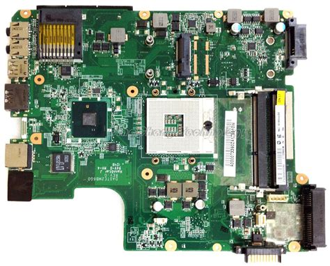 Motherboard Toshiba L645 for toshiba satellite l600 l645 original laptop motherboard a000073390 da0te2mb6g0 integrated