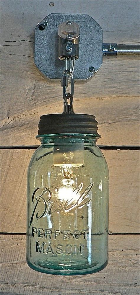 mason jar bathroom light best 25 mason jar lighting ideas that you will like on