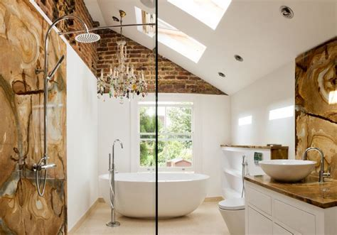 brick bathroom exposed brick walls good or bad experiences