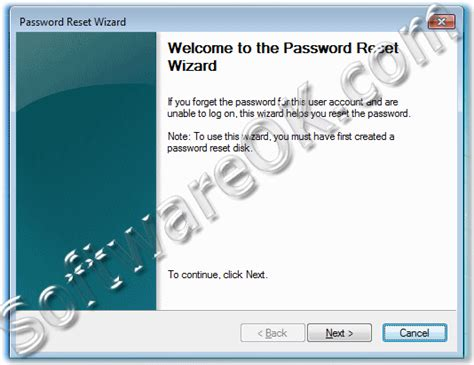 windows vista password reset disk software how to use the password reset disk in windows 7