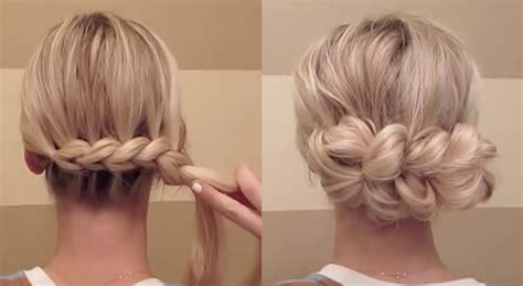 pull through braid easy hairstyles cute girls hairstyles pull apart braid hairstyles pull apart braid hairstyles