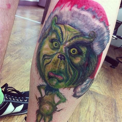 grinch tattoo designs grinch best design ideas