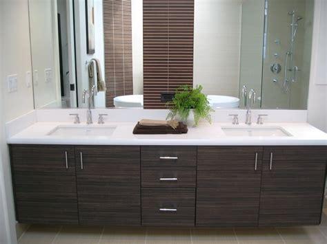 Master Bath Vanity In Wood Grain Laminate Slab Door Yelp
