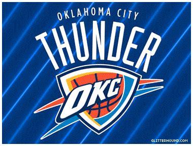 Okc Thunder Home Decor by Oklahoma City Thunder Wave Gif Gif By Supimnolan Photobucket