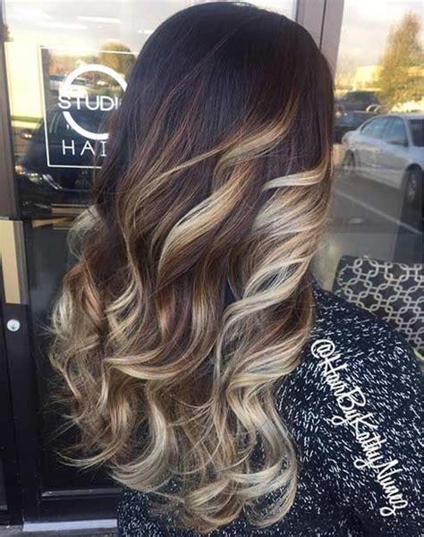 Summer Highlites For Dark Hair   31 balayage hair ideas for summer highlights on dark