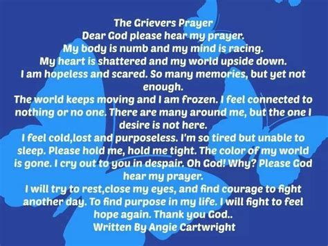 prayers to comfort the grieving 11 best images about grief on pinterest my prayer i