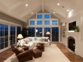 vaulted ceiling recessed lighting houndstooth residence traditional family room denver
