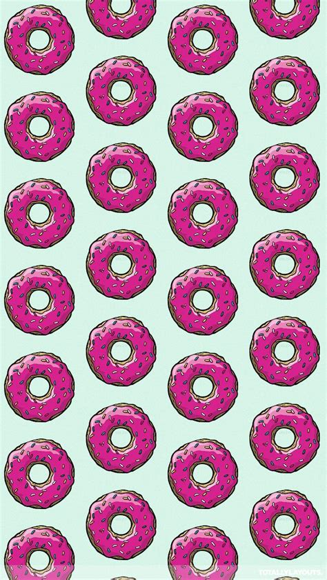 Piyama J2 988 Minion Pink sprinkled pink doughnut png 640 215 1136 iphone wallpapers cases image search