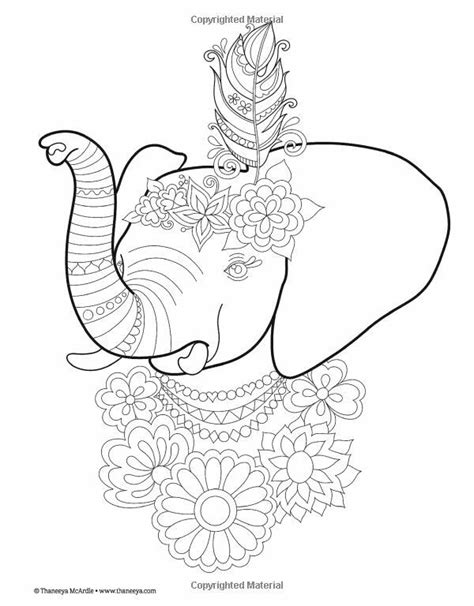 ellie elephant coloring page 61 best colouring pages images on pinterest coloring