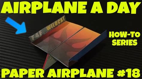 How To Make Paper Air - paper airplane a day series 18 easy paper plane how to