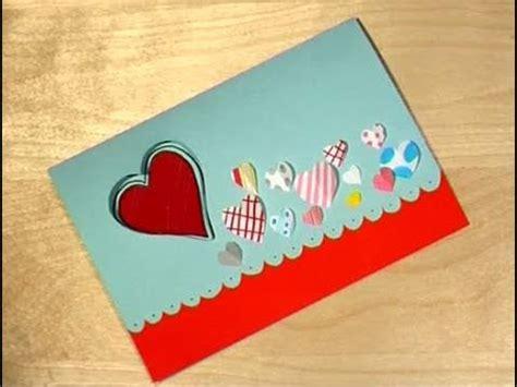 como realizar tarjetas para vender como hacer una tarjeta c 243 mo dise 241 ar una tarjeta de san valent 237 n youtube