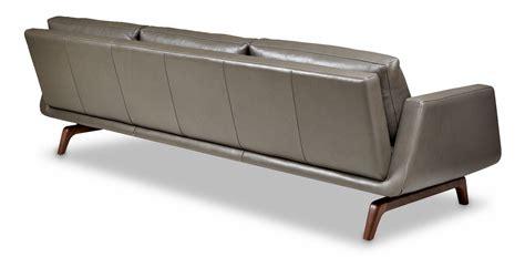 Circle Furniture Nash Sofa Leather Sofa Contemporary Leather Mart Sofa