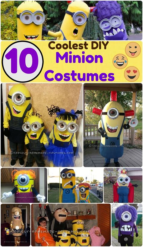 awesome diy minion costume ideas    family