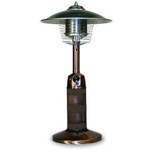 Table For Patio Heater Table Top Gas Patio Heater Copper Brgwt501a Firepitspark
