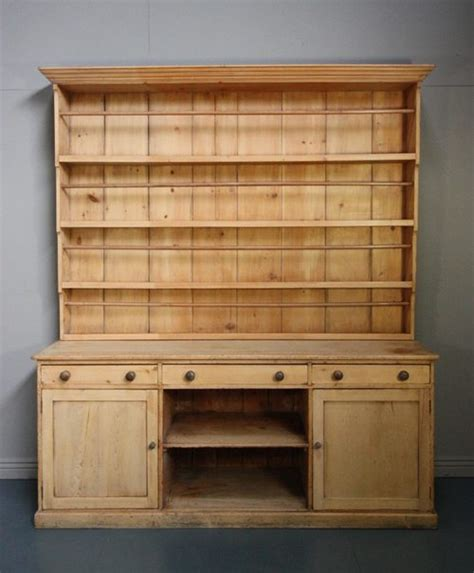 Pine Dresser Antique by Large Antique Pine Kitchen Dresser Antiques Atlas