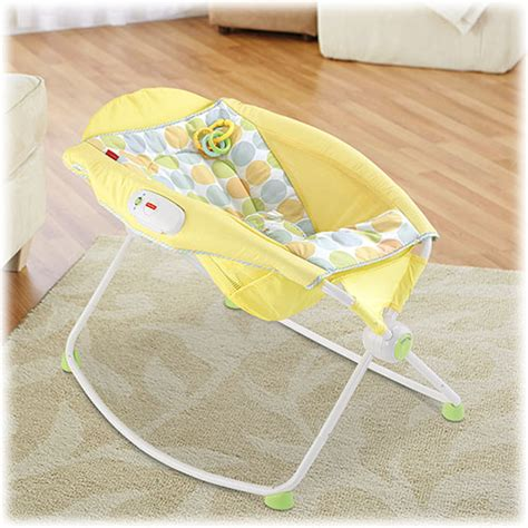 Yellow Rock And Play Sleeper by Books Coffee And Babies Five Favorites Newborn Baby