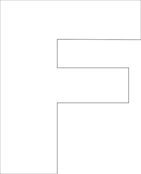 letter f template 1000 ideas about block letter fonts on