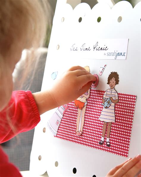 How To Make Magnetic Paper Dolls - magnetic paper dolls studios