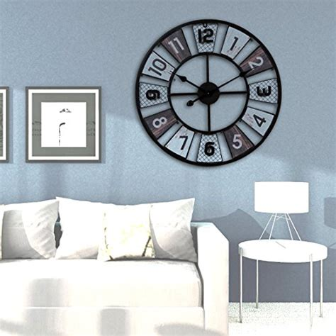 große wanduhren wohnzimmer wanduhr lautlos teckpeak gro 223 e wohnzimmer wanduhr
