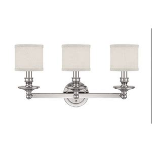 Ferguson Vanity Lighting C1238pn451 Midtown 3 Bulb Bathroom Lighting Polished Nickel At Shop Ferguson