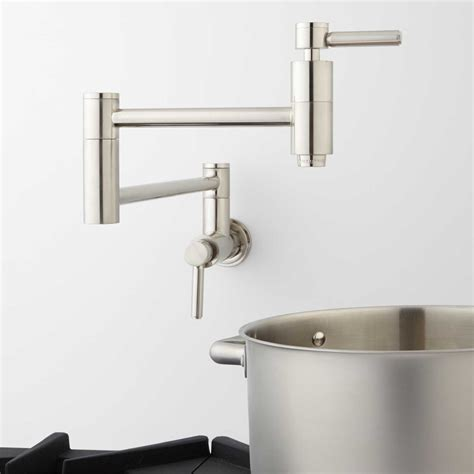 pot filler faucet wall mount height