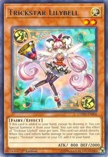 Yugioh Trick Box trickstar lilybell code of the duelist yugioh