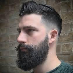 hairstyles that go with a moustache barbas vintage com desenhos cortes e modelos retr 244