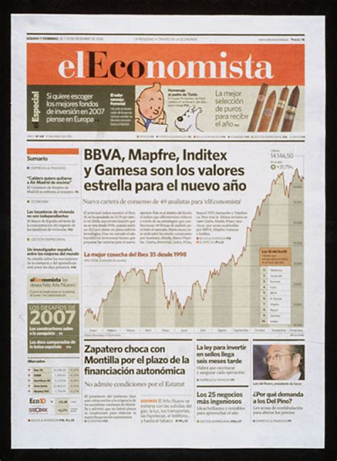 layout in newspaper el economista newspaper design headlin3s