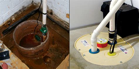 sump pump solutions for basements crawl spaces
