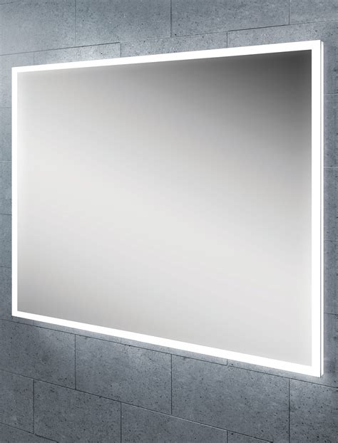 Hib Globe 60 Steam Free Led Illuminated Bathroom Mirror Led Illuminated Bathroom Mirror