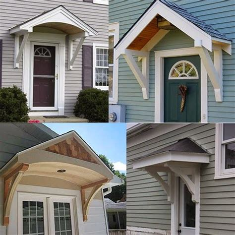 Entry Door Awnings by 25 Best Front Door Awning Ideas On Metal