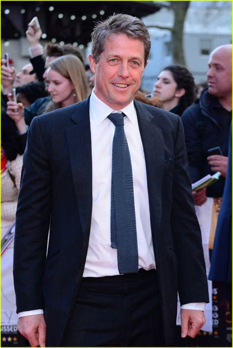 Demented Reporter Handcuffs Herself To Hugh Grant by Meryl Streep Hugh Grant Smiles At Florence Foster