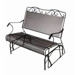 Plantation Patterns Patio Furniture by Home Depot Plantation Patterns Double Glider Bench Gliders