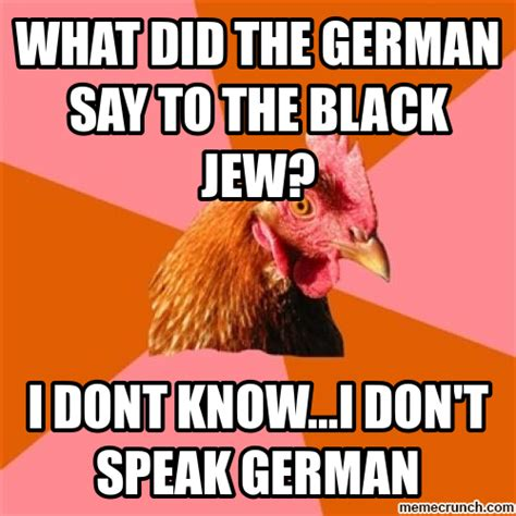 Chicken Meme Jokes - anti joke chicken germans